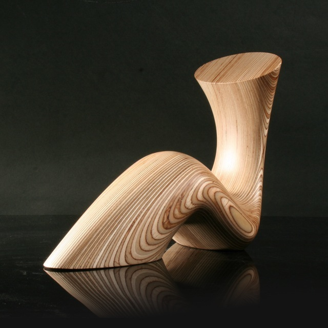 LadyGirl_II_Sculpted_Wooden_Bookends_ODEChair_Jolyon_Yates