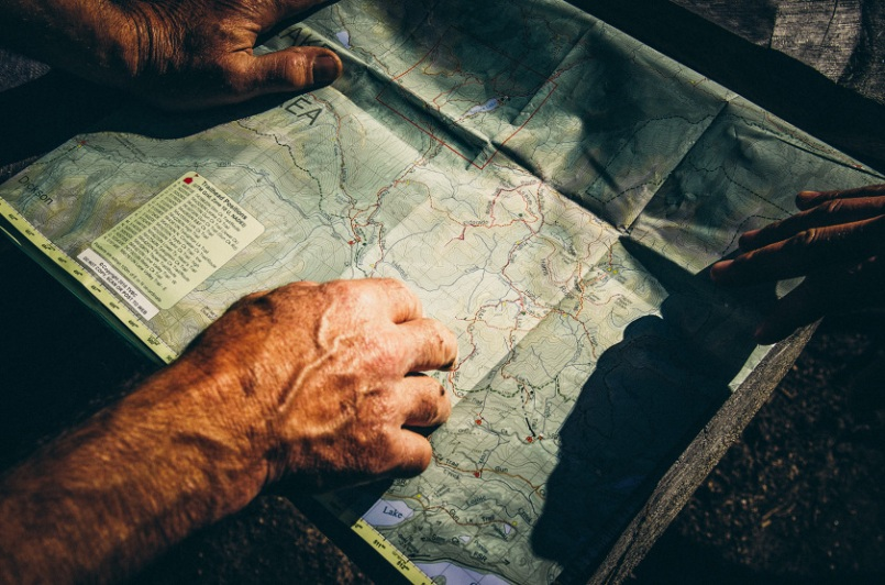 Owen Perry and the map