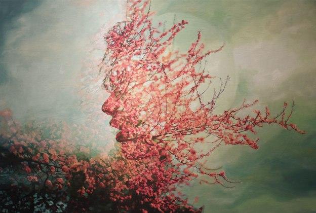 Pakayla Biehn painting